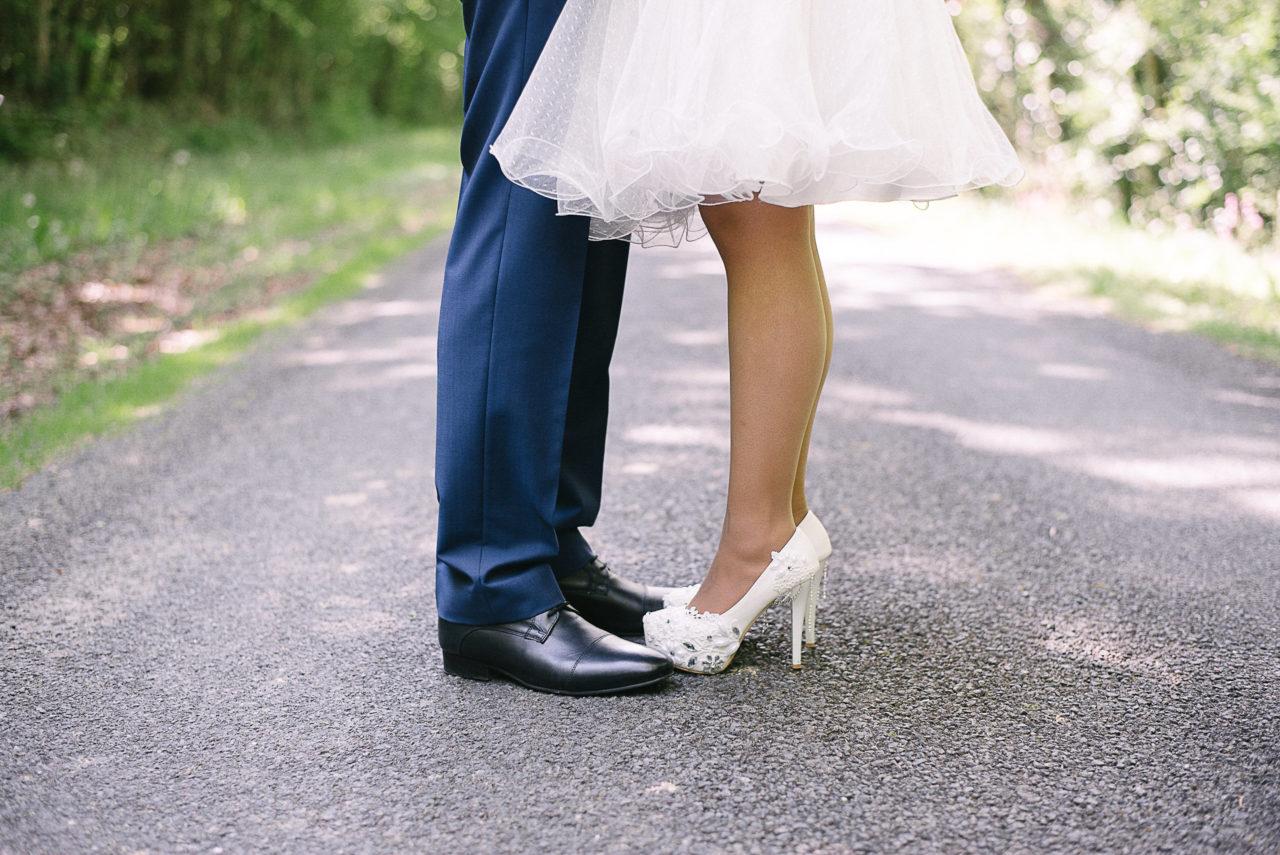 Les déatils qui font de votre mariage un mariage qui ne ressemble qu'à vous, par exemple avec le choix des chaussures